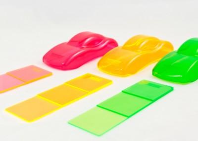 Wir färben Kunststoffe exakt nach Ihren Vorgaben ein