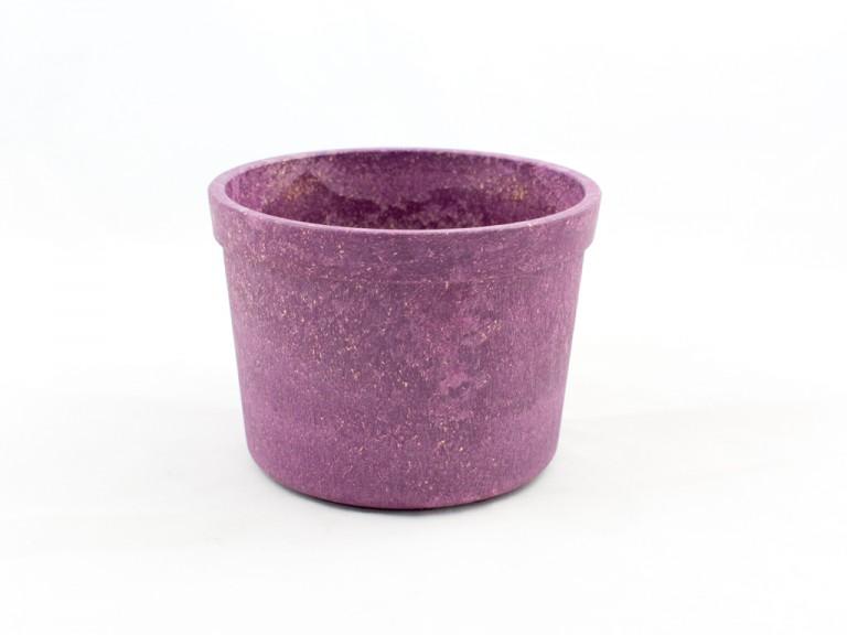 Blumentopf aus Biokunststoff